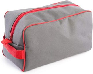 Mens Grey Wash bag